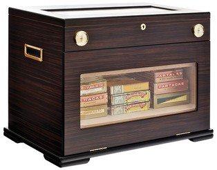 Humidor Schrank adorini Aficionado - Deluxe | abschließbarer Zigarrenschrank für bis zu 400 Cigarren