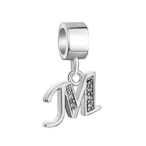 Uniqueen Fit Pandora Charms  -  925 Sterling-Silber  Sterling-Silber 925 (M Charms Pandora)