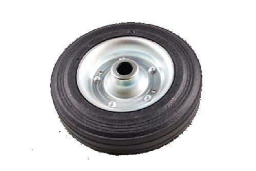 Preisvergleich Produktbild Anhänger Stützrad Ersatzrad Vollgummirad 200x50mm Stahlblechfelge zu Artikel Nr. 40100