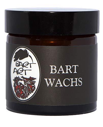 BARTART Bart Wachs • Inhalt 50 ml • Made in Germany • zum täglichen Modellieren und Formen • mit Bienenwachs & Jojobaöl • Grooming Produkt