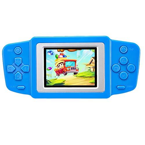 """ZHISHAN Handheld Spielkonsole Retro Tragbare Spiele Konsolen inkl. 218 Klassische Vintage Video Spielen 2.5 \""""LCD Bildschirm Arcade Erholung System Geburtstagsgeschenk für Kinder (Blau)"""