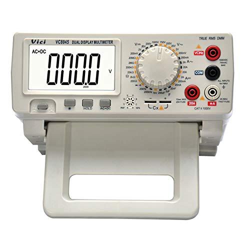 PräziseDigitaler Bildschirm VC8045 4 1/2-stelliges, hochpräzises AC + DC-DMM-Handmessgerät für manuelle Messungen präziseDigitaler Bildschirm (Edition : UK Plug)