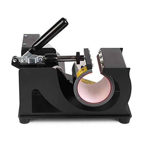 Lartuer Transferpresse Tassenpresse Heat Press Machine für zylindrische und konische Tassen 2 in 1 Digitale Zeitregelung und Temperaturüberwachung (2 in 1 Tassen) - 4