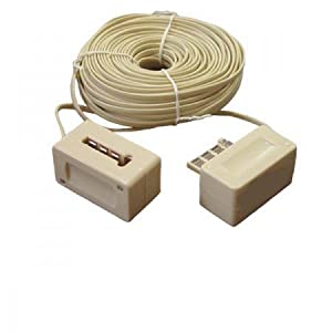 rallonge telephonique extension cable telephone 25 m high tech. Black Bedroom Furniture Sets. Home Design Ideas