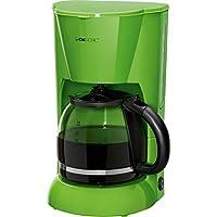 Clatronic KA 3473–Cafetera de filtro para 12–14tazas, Noche ropf Seguridad, placa calentadora, apagado automático, indicador de nivel de agua, color verde