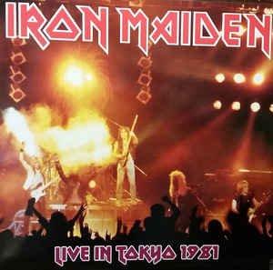 Live In Tokyo 1981 by Iron Maiden (2 Lp)