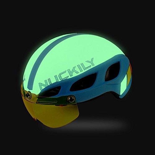 Casco Bici£¬ Skysper Casco Ciclismo per Adulto Luminoso Fashion Helmet Solar Casco per Adulti Uomo Donna