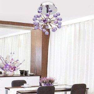 WOKINGHAM - Deckenlampe Floral aus Kristall