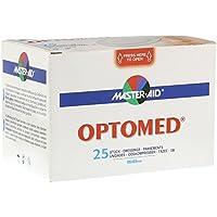 OPTOMED Augenkompressen steril selbstklebend 25 St Kompressen preisvergleich bei billige-tabletten.eu