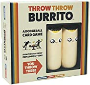 Throw Throw Burrito by Exploding Kittens - A Dodgeball Card Game - Family-Friendly Party Games - Card Games fo