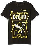 PUMA Kinder BVB DNA Tee Jr T-shirt, Schwarz, 164