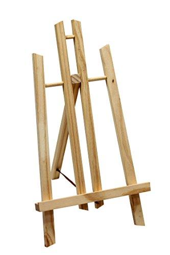 Display-/ Tischstaffelei 40cm hoch, aus Vollholz, klappbar und platzsparend, Bildhalter, Deko-Ständer, Sitzstaffelei