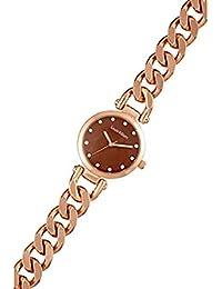 Reloj mujer Louis Villiers en acero rojo 33 mm al2927 – 09
