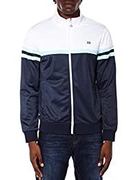 Weekend Offender Navy   White Full Zip Track Top Jumper - Moore XL 15f8caf2882b