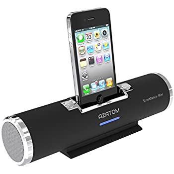 azatom streetdance 1 docking station speaker with 30pin. Black Bedroom Furniture Sets. Home Design Ideas