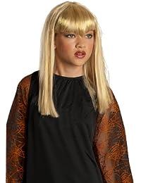 Rubies Kost-me Glitter Vamp Per-cke Blonde Child One-Size