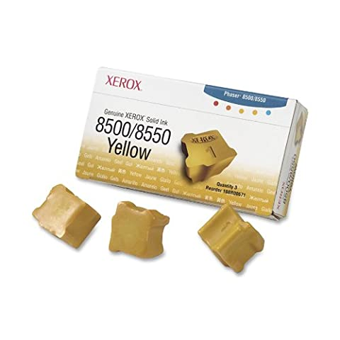 Xerox Genuine Xerox Encres solides 3 x jaune 3000 pages