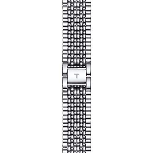 Tissot Herren Analog Quarz Everytime Large Armbanduhr mit Edelstahl Armband T1096101103100