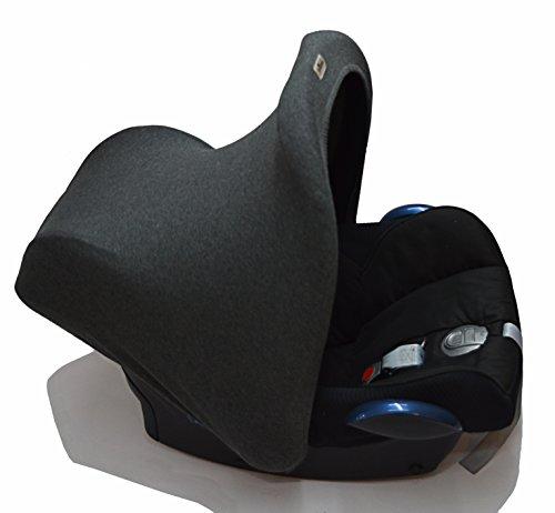 Preisvergleich Produktbild Janabebe® Marengo Universal Verdeck / Dach für Maxi Cosi/Babyschale Gruppe 0+ als Sonnenschutz / Windschutz / SonnenDach / Sonnenverdeck