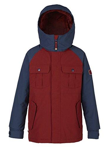 Burton Jungen Fray Jacket Snowboardjacke, Fired Brick/Mood Indigo, S