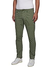 Replay Men's Men's Khaki Pants 100% Cotton