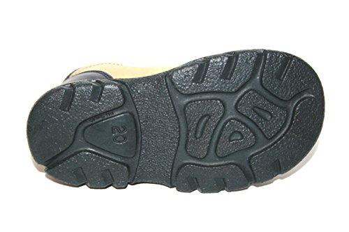 Jela 51017 Kinder Schuhe Stiefeletten Blau/Beige