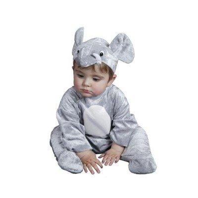 Costume da Elefante Africano neonato T-7/12 mesi