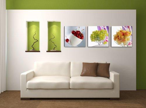 Visario 4218 - Quadro su Tela per Cucina, Motivo: Frutta, 150 x 50 ...