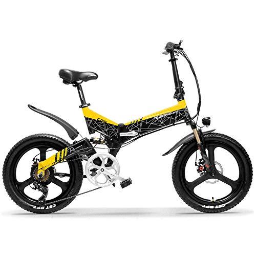 LANKELEISI G650 Bicicleta eléctrica Plegable 20 Pulgadas