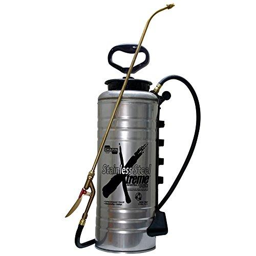 Gallon Sprayer (Chapin 19069 Xtreme Edelstahl-Beton-Sprühgerät, offener Kopf, für professionelle Beton-Anwendungen (1 Sprayer/Packung))