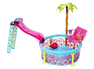 Mattel x9299 piscina glam di barbie giochi e for Piscina di barbie
