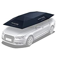 Honda Accord Car Cover, Automatic Folded Umbrella Shelter with Remote Control, Portable Auto Protection Car Hood, Promate CarShade