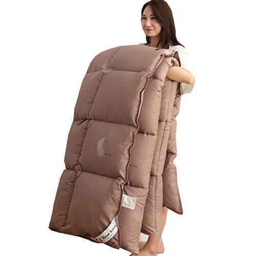 LINLIN 100% Weiße Ente/Gans Down Winter Quilt Tröster Decke Duvet Füllung Baumwolle Cover Twin Queen King Size,220 * 240Cm,4.5Kg -