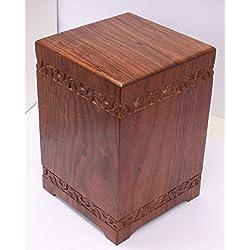 Caja de madera Bio para cenizas de adultos