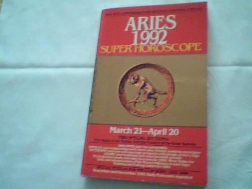 Super Horoscope Aries 1992