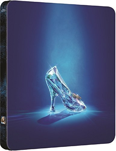 Cinderella Steelbook, Blu-ray, Cinderella (2015) - Zavvi Exclusive Limited Edition Steelbook (UK Import ohne dt. Ton) Blu-ray