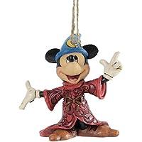 Disney Tradition A25903 Topolino Sospensione Resina, Design di Jim Shore, 10 cm