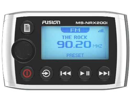 Fusion MS-NRX200i Marine Wired Remote for MS-IP700i, MS-AV700i and MS-RA205 by Fusion -