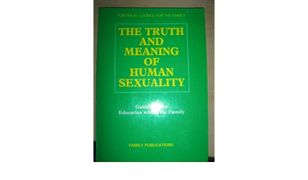 Truth meaning human sexuality