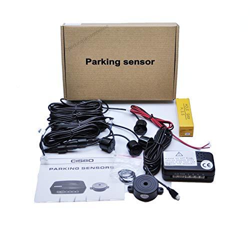 Universal Wireless nachrüst ayuda para aparcar atrás ayuda al aparcamiento 4 sensores indicador LED