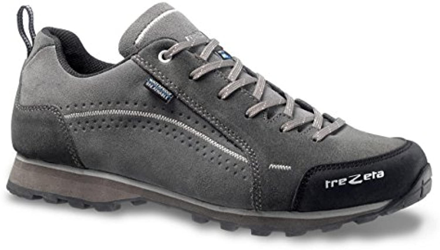 Trezeta Shoes Flow WP Outdoor Lifestyle Grey de color gris, hombre, Grey-Antracite