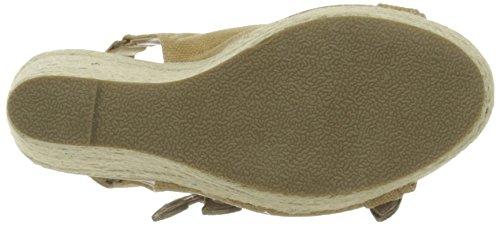Kaporal Rock, Sandales Femme Marron (Camel)