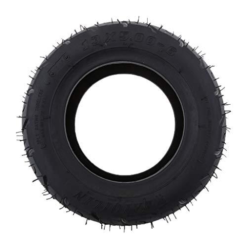 FLAMEER 13x5.00 6 Zoll Gummiprofil Reifen Für Faltende Fahrrad Roller Viererkabel Schmutz Fahrrad