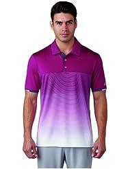 Adidas Climachill Gradient Stripe Polo-Shirt Golf