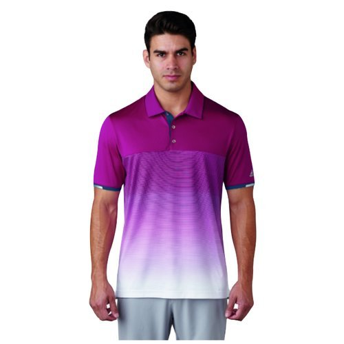 Gradient stripe polo the best Amazon price in SaveMoney.es fbba64d1d34d