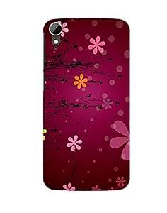 Pick Pattern Back Cover for HTC Desire 828 dual sim (MATTE)