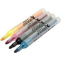 Liquid Chalk Pens WhiteBoard Marker Dry Erase Easy Wipe Erasable Bullet Tip