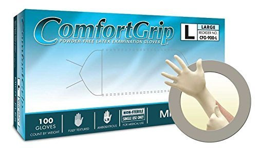 Pack of 1000 9.6 Length X-Large Microflex UltraSense Nitrile Glove 3.1 mils Thick Powder Free