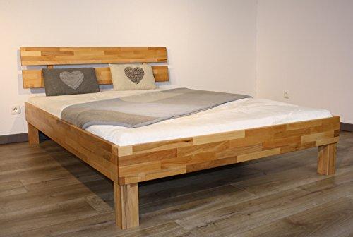 Bett PALMA, Größe 100x200, Buche Massivholz, von MeinMassivholz - Made in Germany, Kostenlose Lieferung zum Wunschtermin - 7