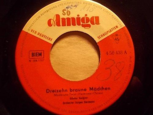 Dreizehn braune Mädchen / Ich sitz' in der Mausefalle (Braune Vinyl-sitz)